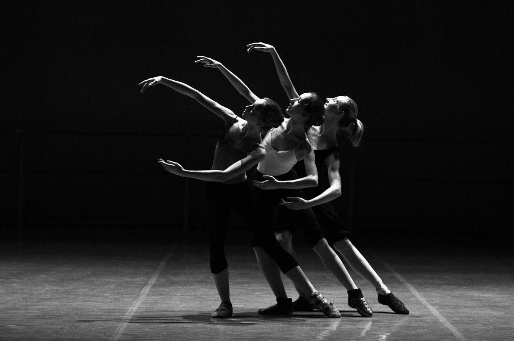 Bailarinas en Cuerpo de baile ballet top